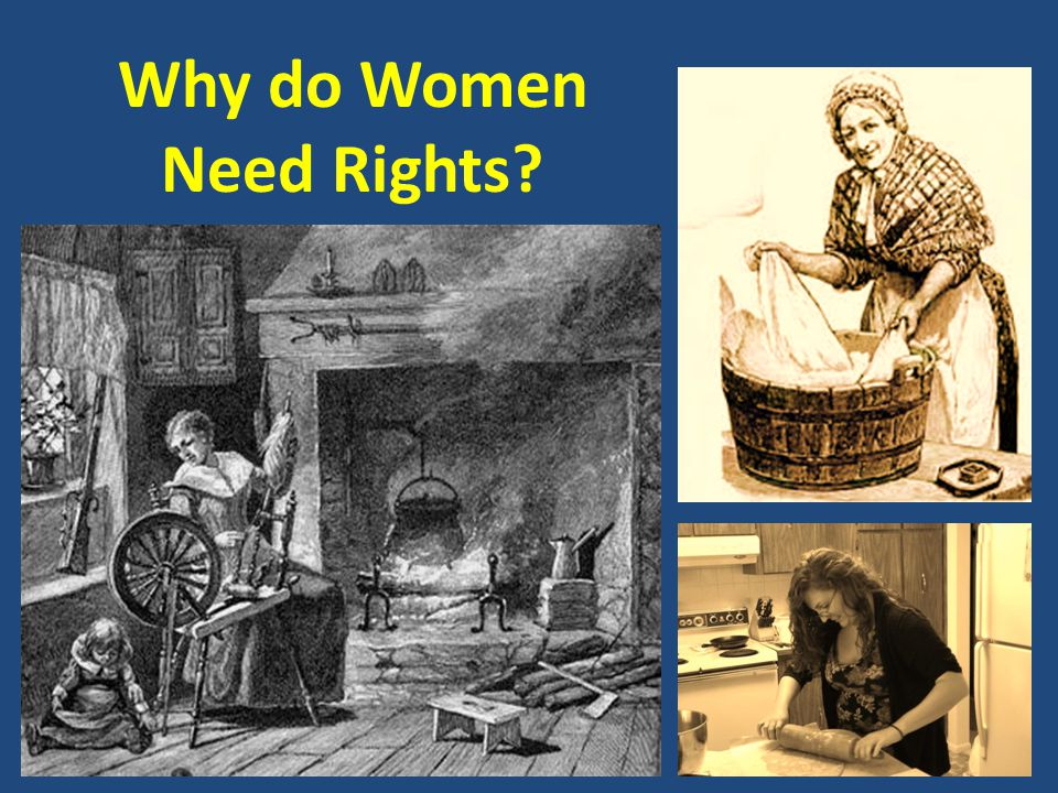 Why do Women Need Rights
