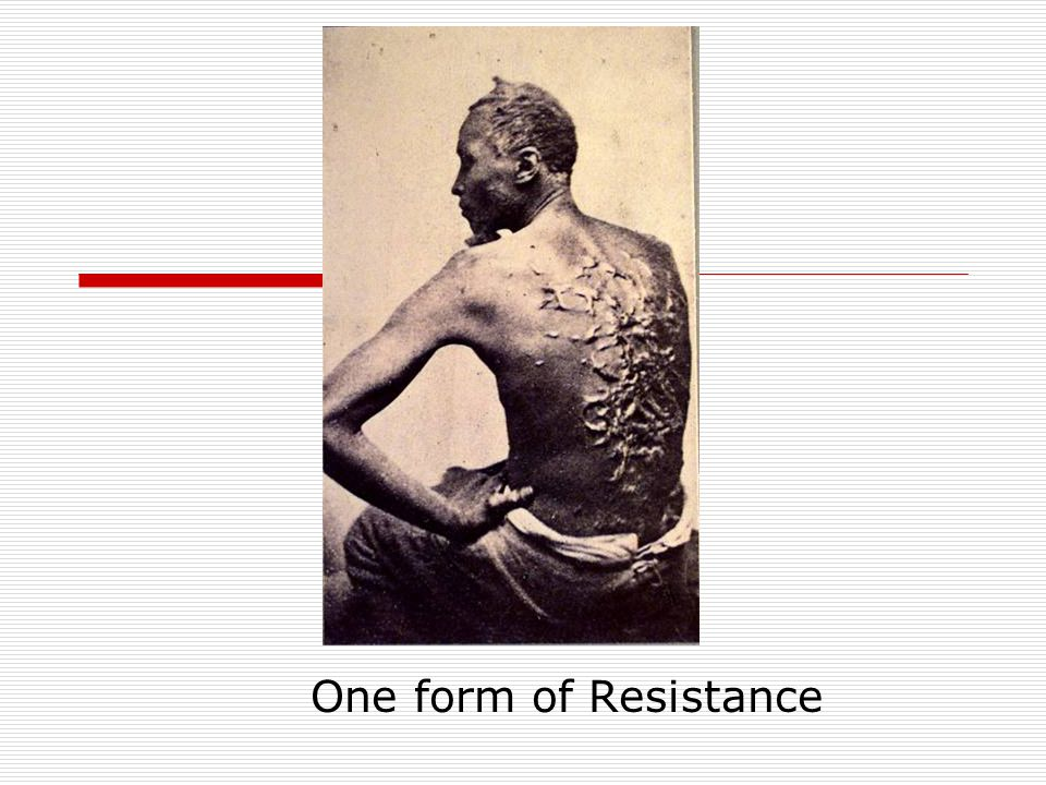 One form of Resistance