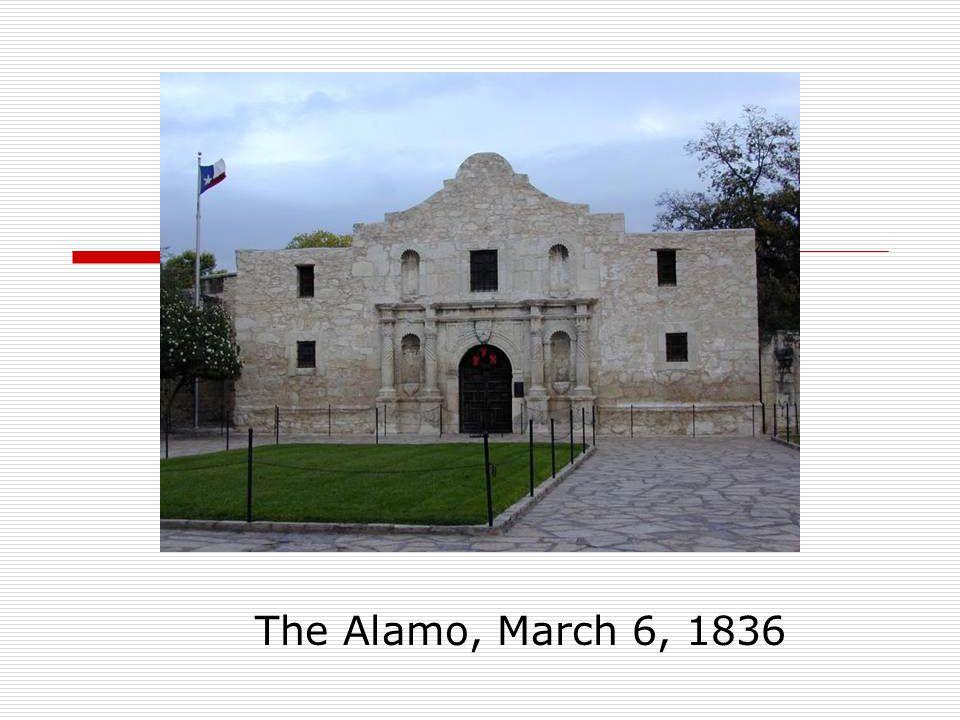 The Alamo, March 6, 1836