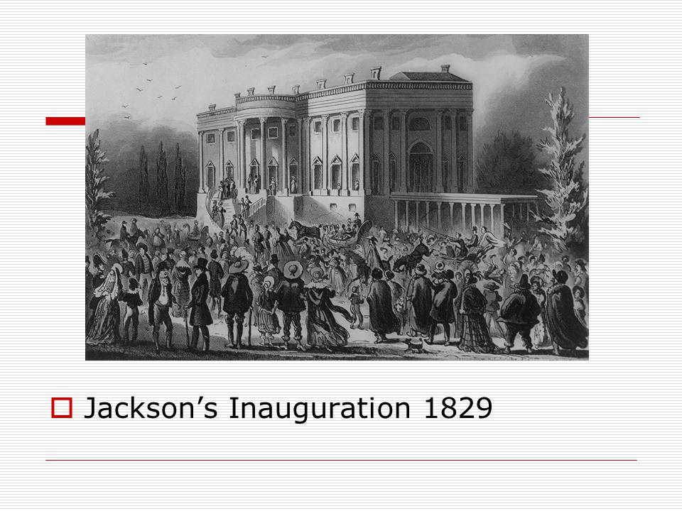  Jackson's Inauguration 1829