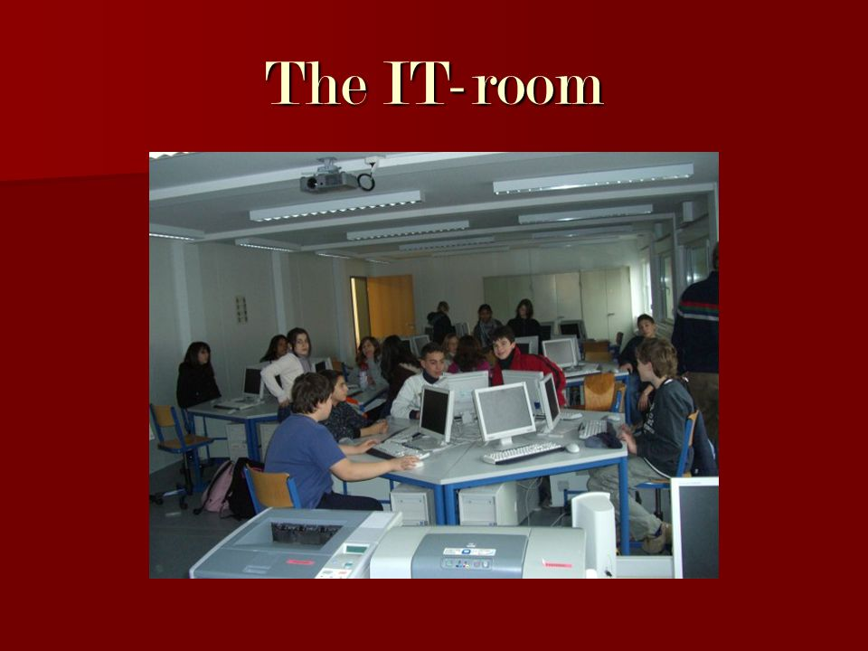 The IT-room