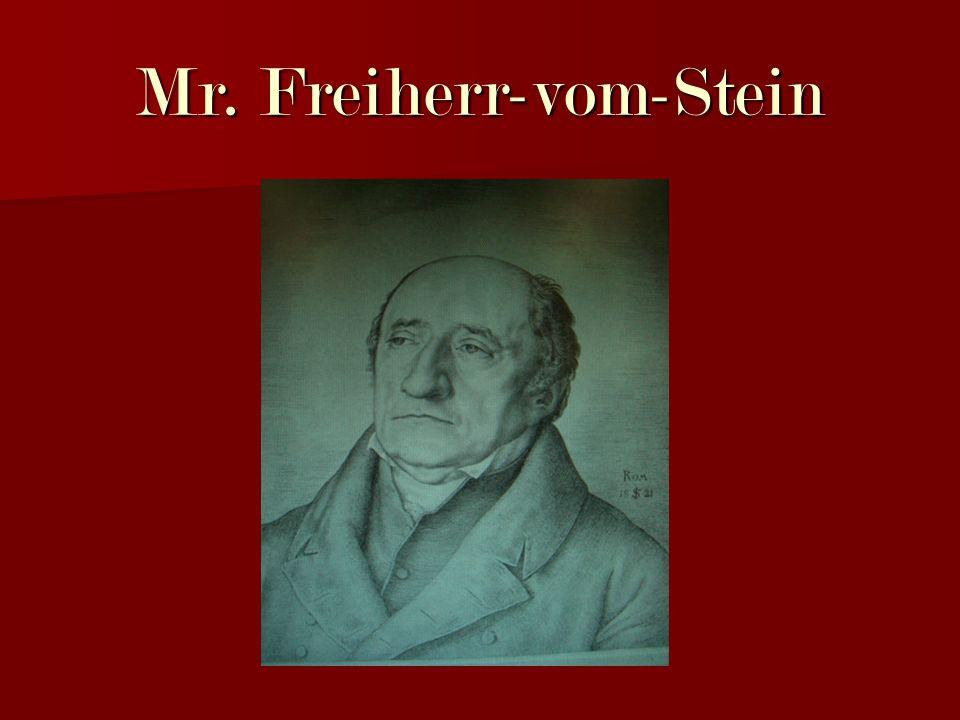 Mr. Freiherr-vom-Stein