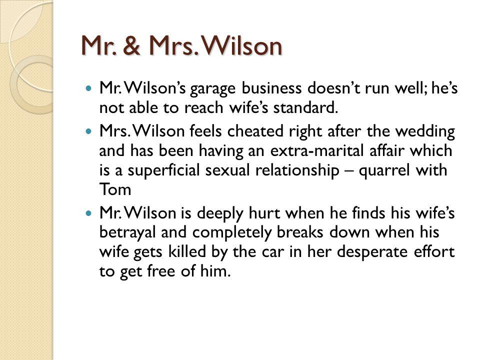 Mr. & Mrs. Wilson Mr.