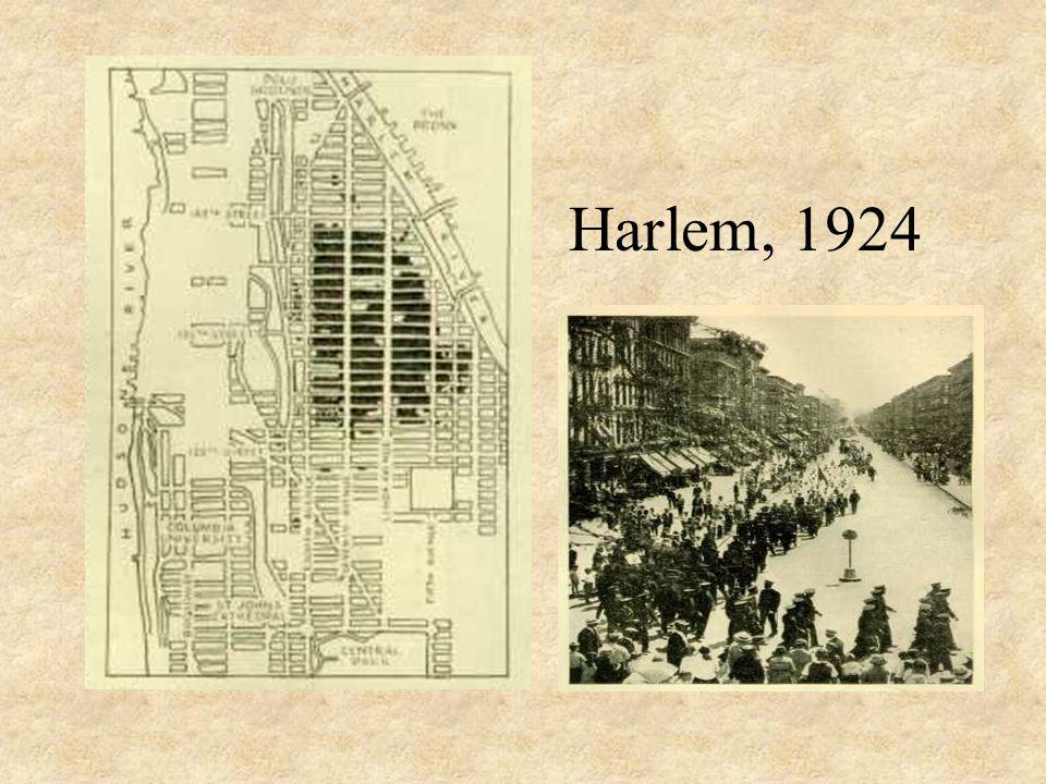 Harlem, 1924