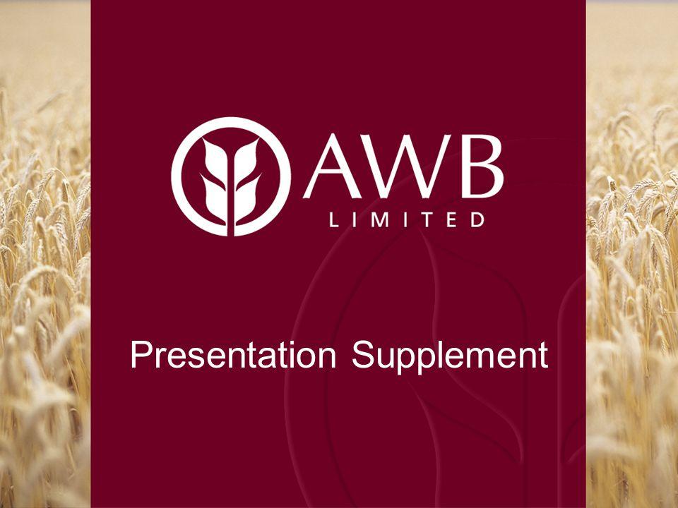 Presentation Supplement