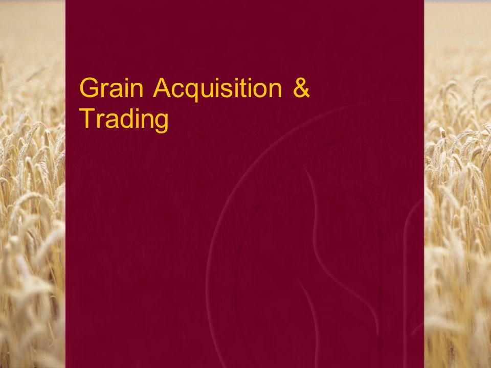 Grain Acquisition & Trading