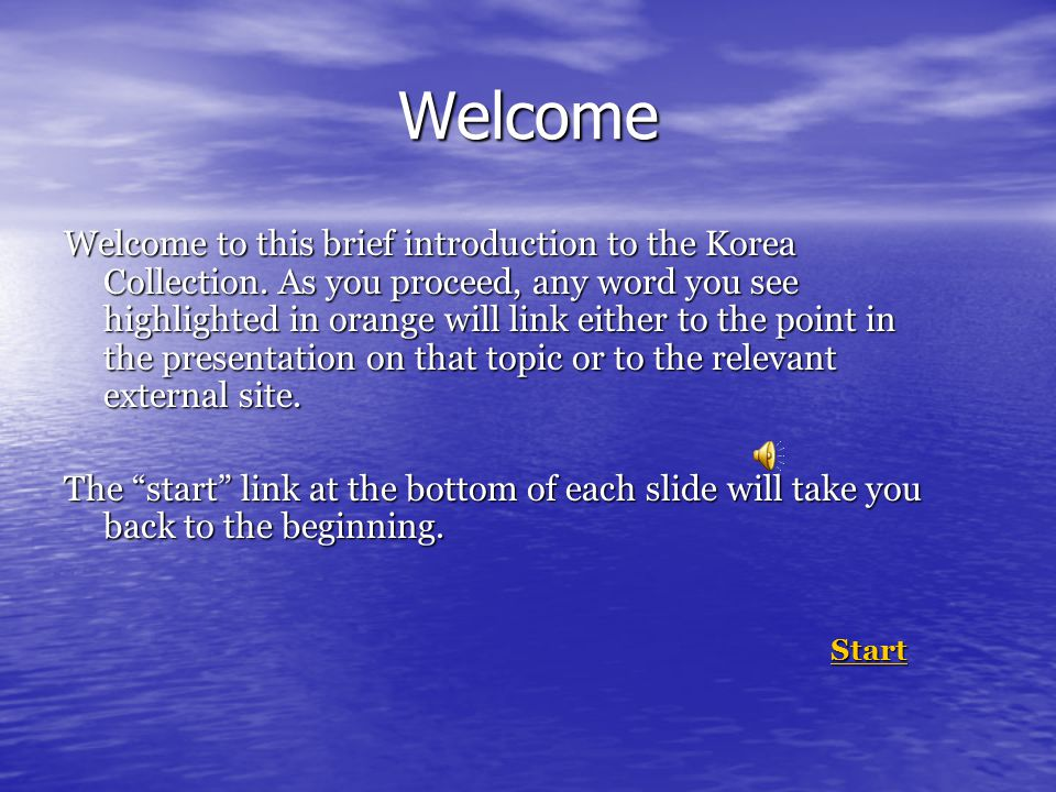 Summary of Resources In broad terms, resources for Korean Studies can divided into the following categories: A.