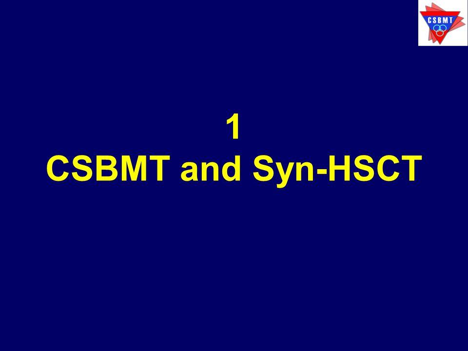 1 CSBMT and Syn-HSCT
