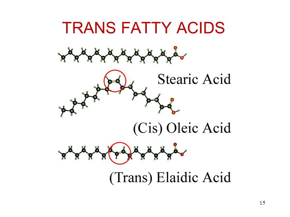 TRANS FATTY ACIDS 15