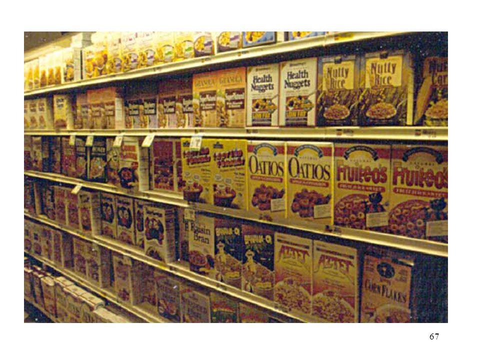 Breakfast cereals 67