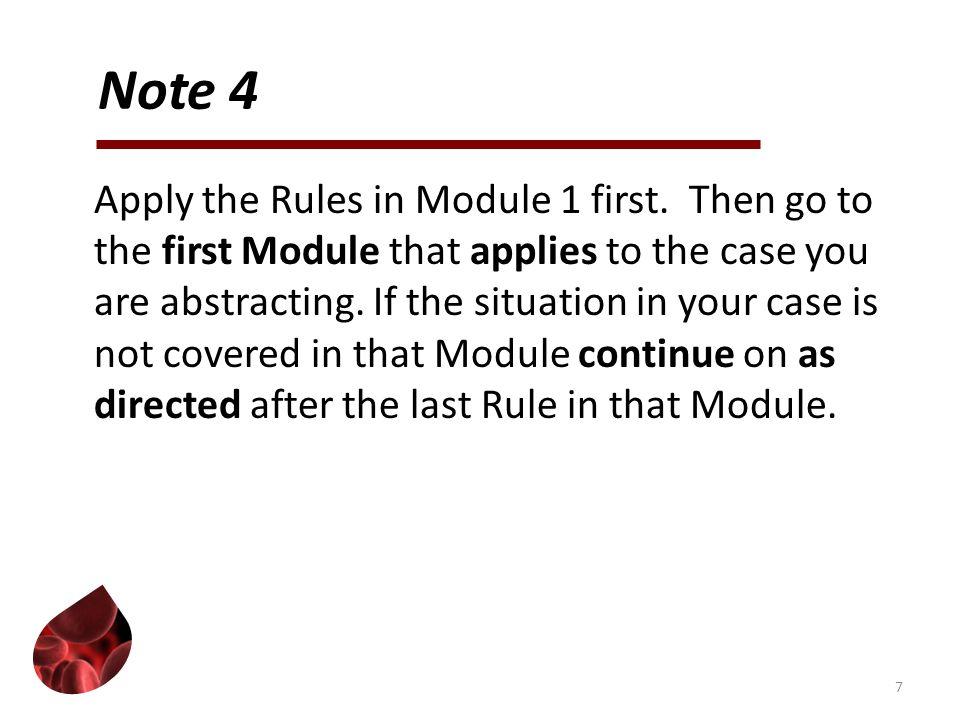 Module 5: Myeloid Neoplasms Histology: 9861/3, 9930/3 Rules: PH14-PH15 8