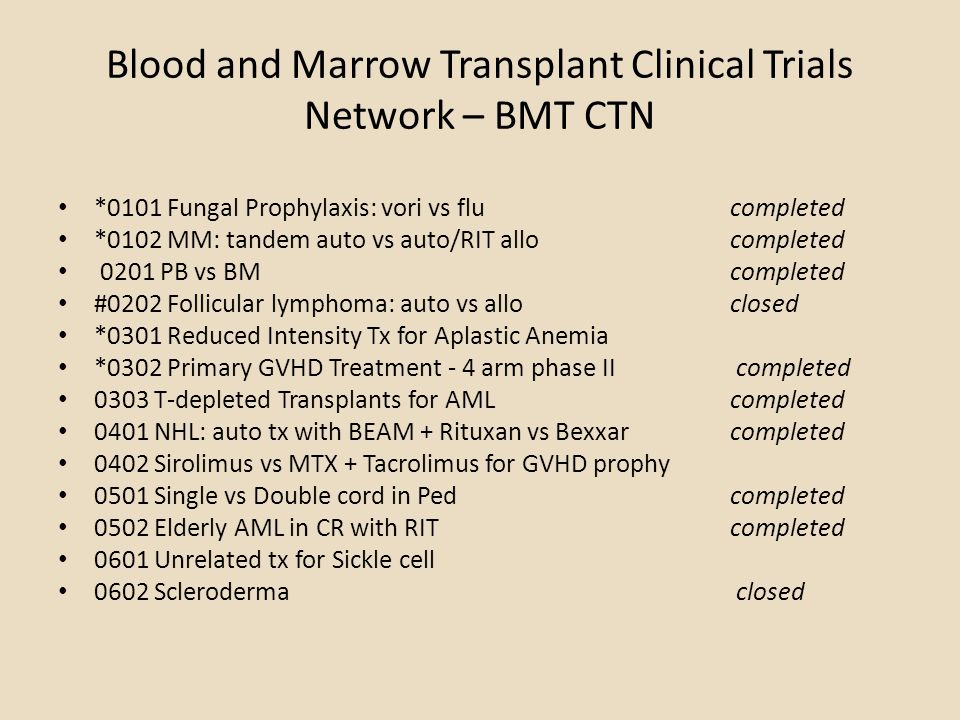 Chimerism – long-term engraftment from unmanipulated cord in most patients - Of 28 evaluable patients, 15 (53%) showed evidence of hematopoiesis from the unmanipulated CB unit ONLY at day 21 - 30.