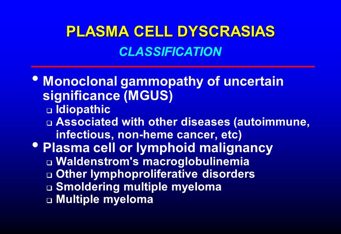 MOLECULAR PATHOGENESIS OF MYELOMA Lancet 2004;363:875