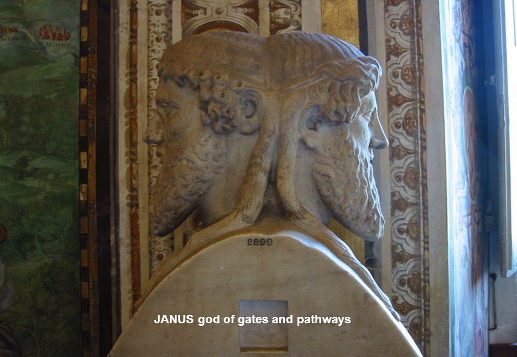 JANUS god of gates and pathways