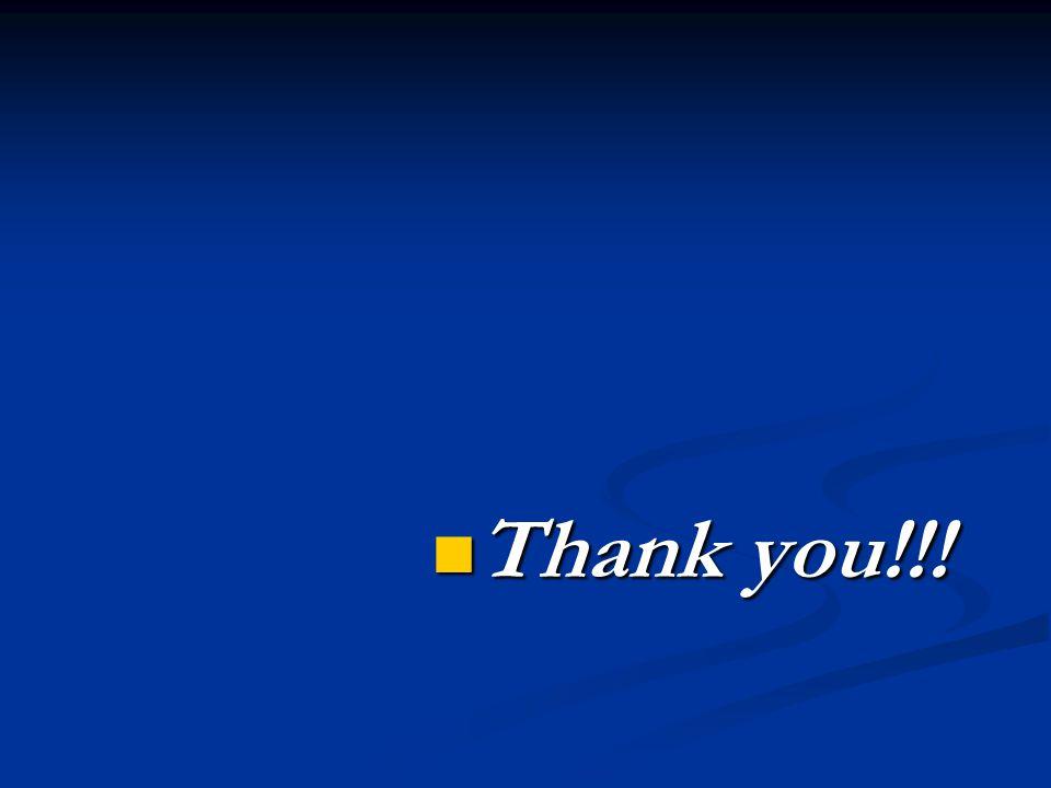 Thank you!!! Thank you!!!