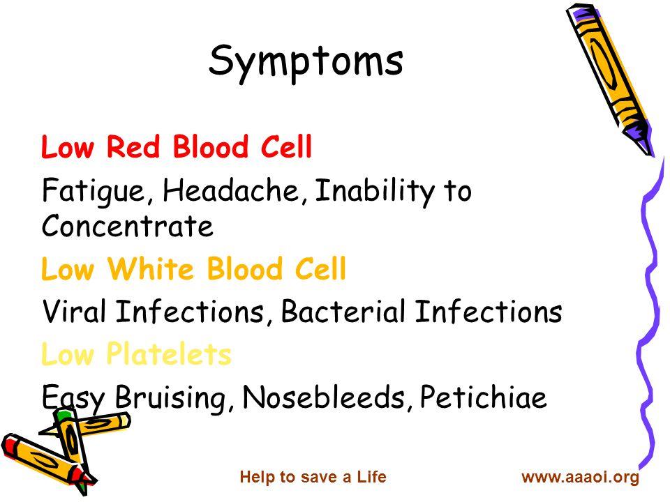 4-Paroxysmal Nocturnal Hemoglobinurea 5-Malnutrition 6-Myelodysplastic syndromes 7-Thymoma