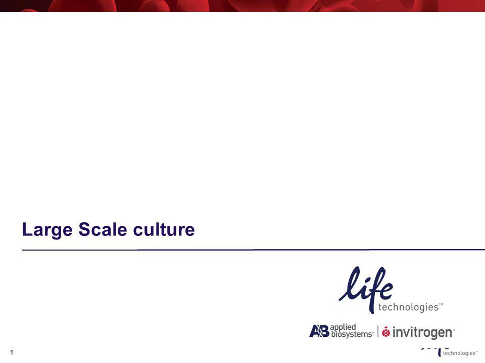 1 Large Scale culture