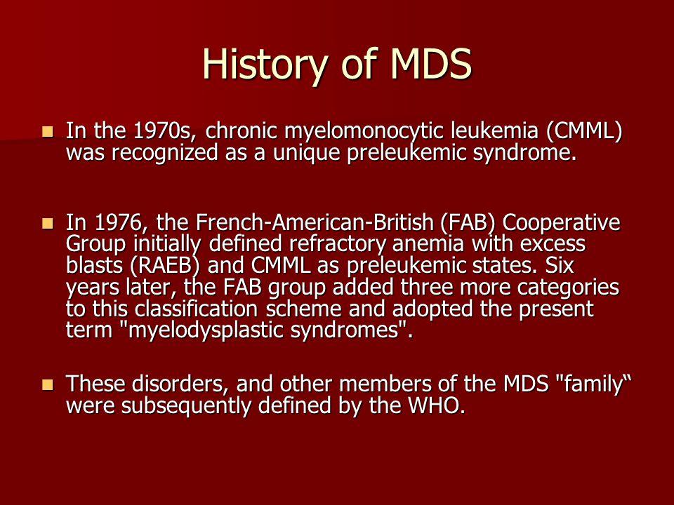MDS/MPD