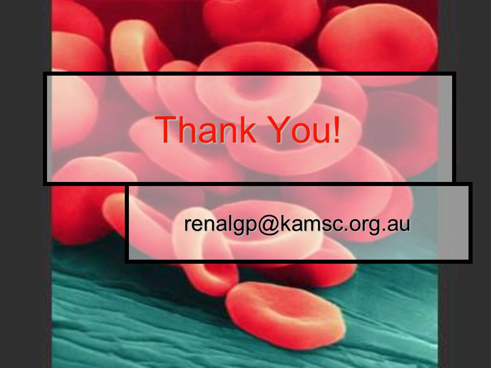 Thank You! renalgp@kamsc.org.au