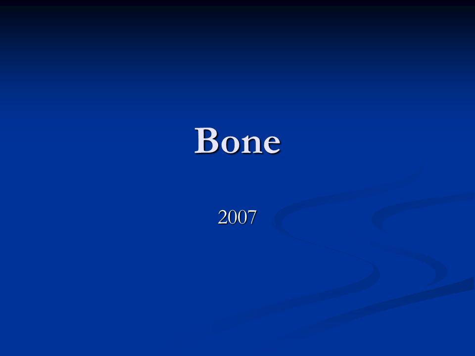 Bone 2007