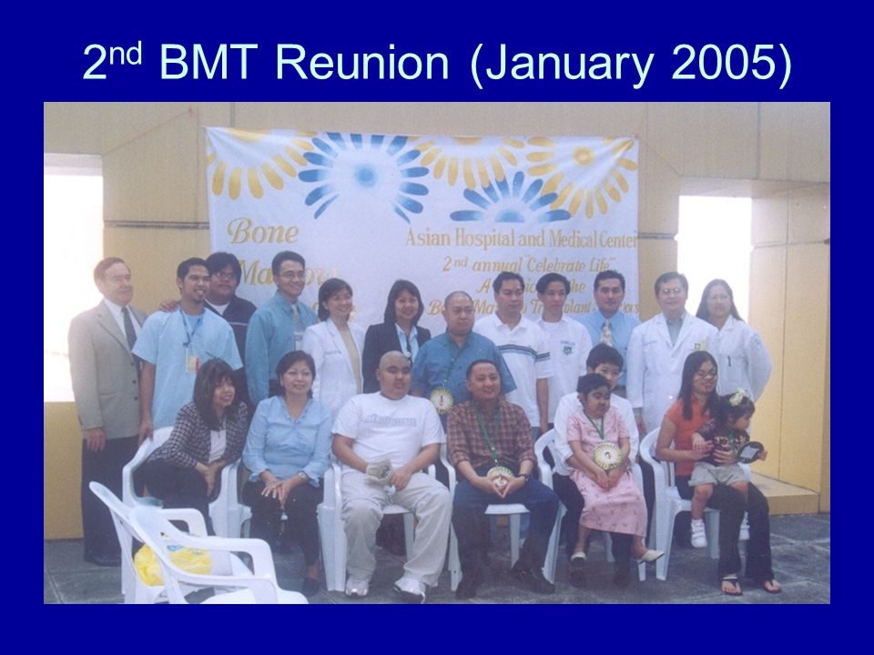 2 nd BMT Reunion (January 2005)