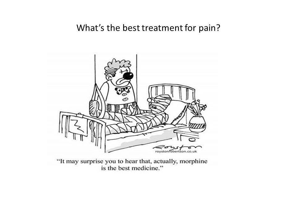What's the best treatment for pain