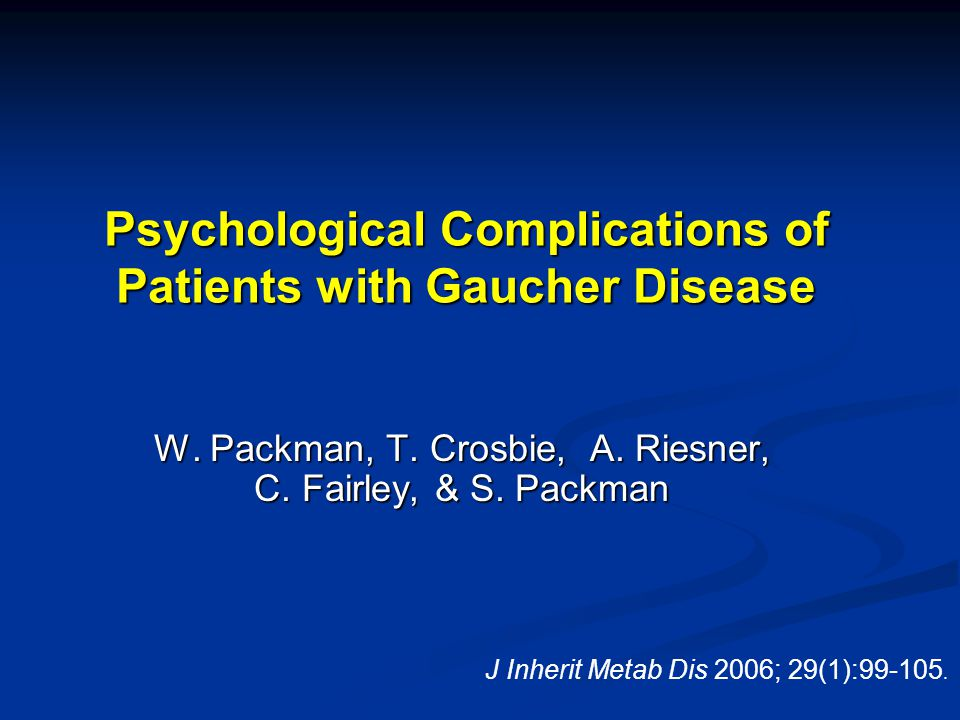Psychological Aspects of Patients with GD: Research Questions 1.