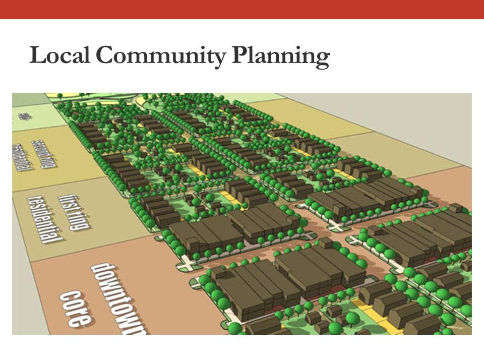 Local Community Planning