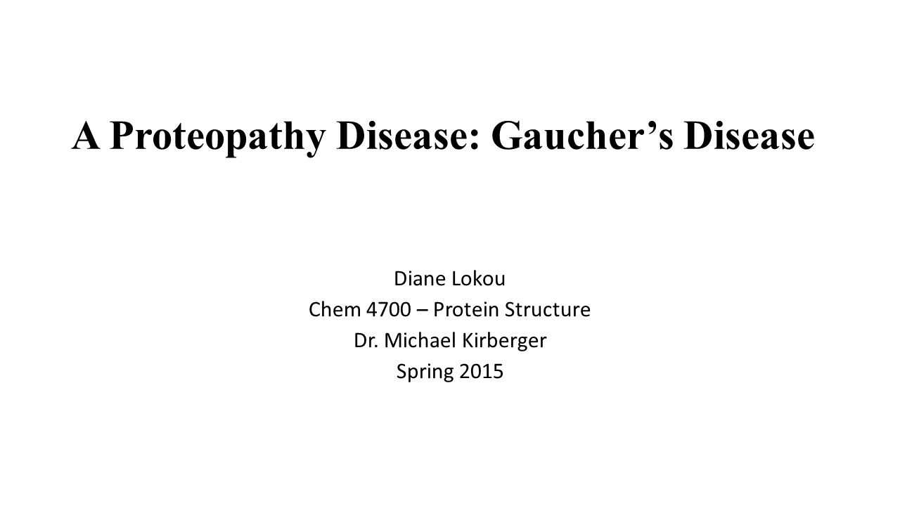 Where does the name Gaucher come from.