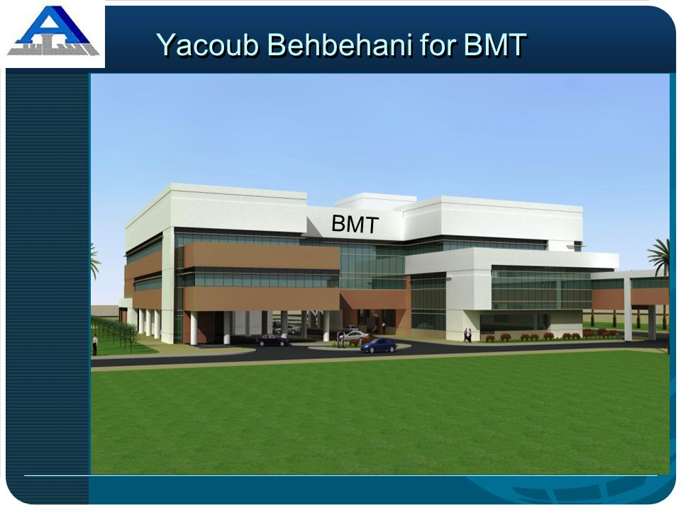 Yacoub Behbehani for BMT BMT