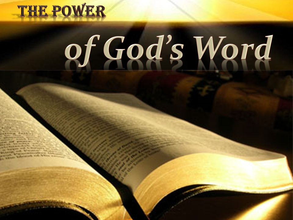 Hebrews 4:12 (NKJV) 12 For the word of God is living and powerful, and sharper than any two-edged sword, piercing even to the division of soul and spirit, and of joints and marrow, and is a discerner of the thoughts and intents of the heart.