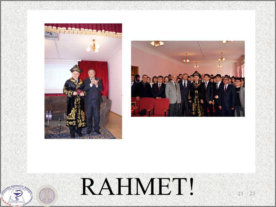 RAHMET! / 2323