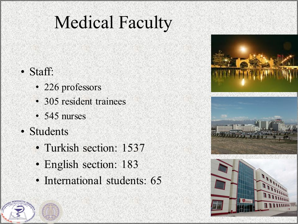Turkish Academy of Sciences / 2315 Several international support programs are available through TUBITAK for visiting researchers.
