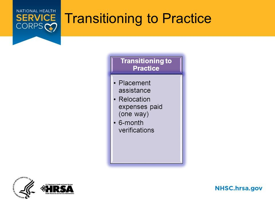 Transitioning to Practice Training