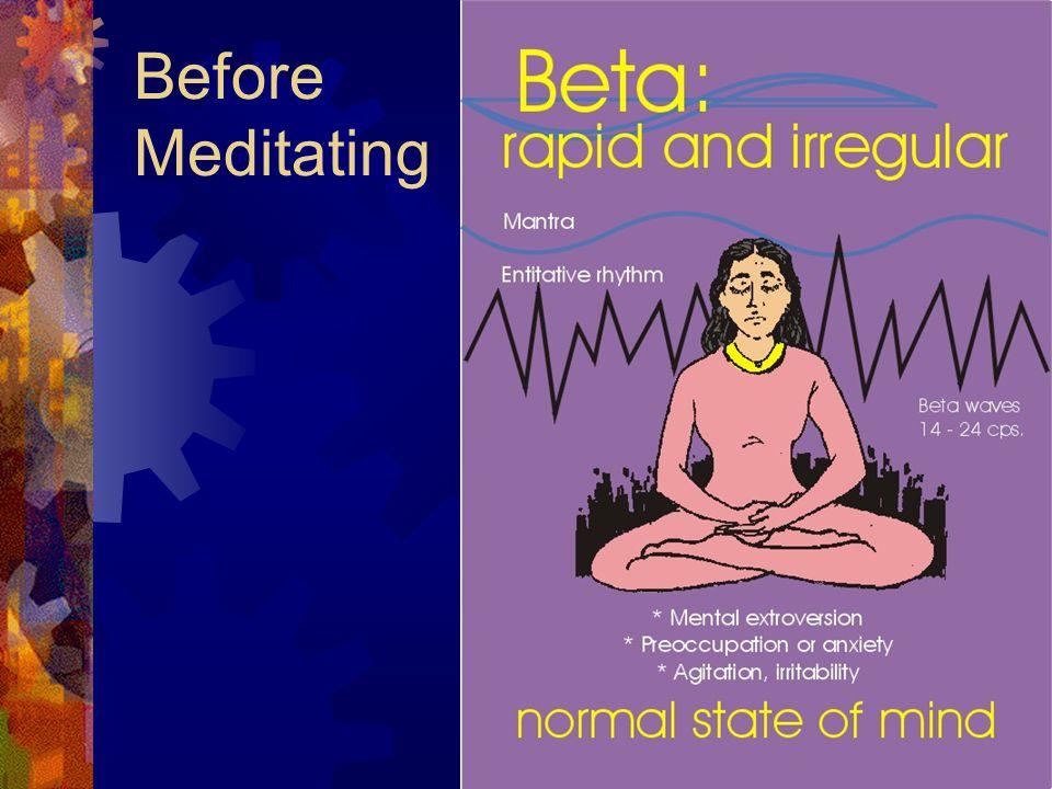 Before Meditating
