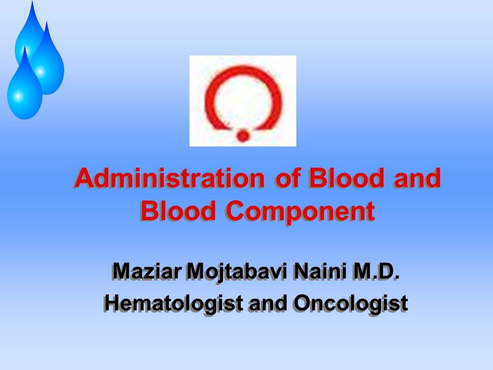 روشهاي صحيح مصرف خون به منظور كاهش ترانسفوزيونهاي غير ضروري