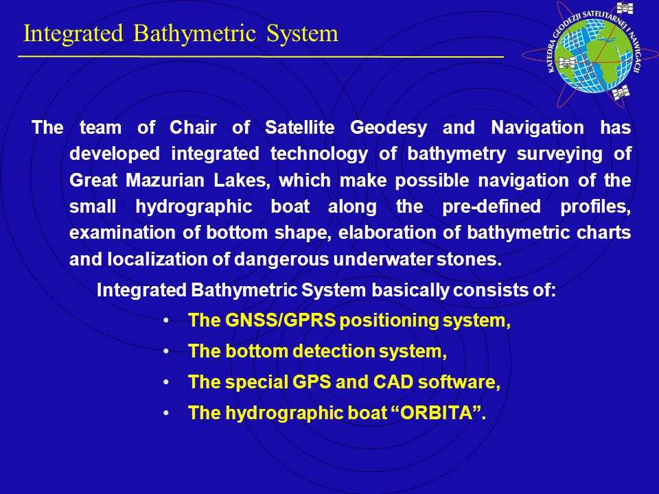 Recording of road accidents with DGPS/GPRS technology GPS SATELLITE SIGNAL GPS survey.