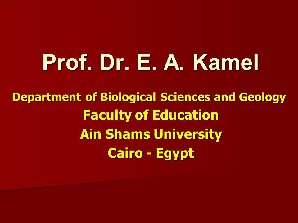 Prof. Dr. E. A.