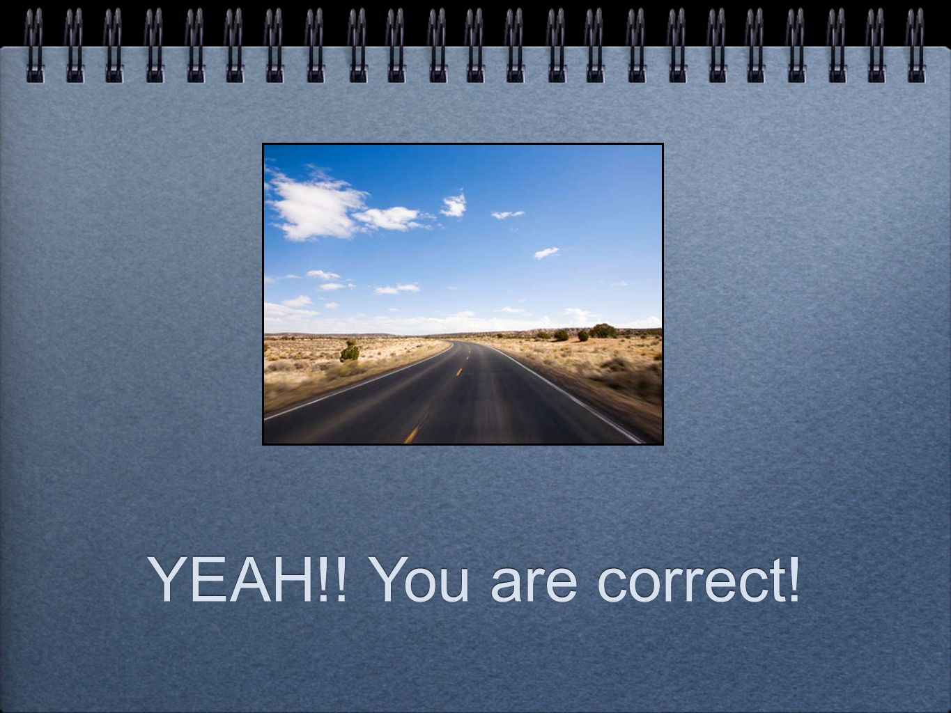 YEAH!! You are correct!