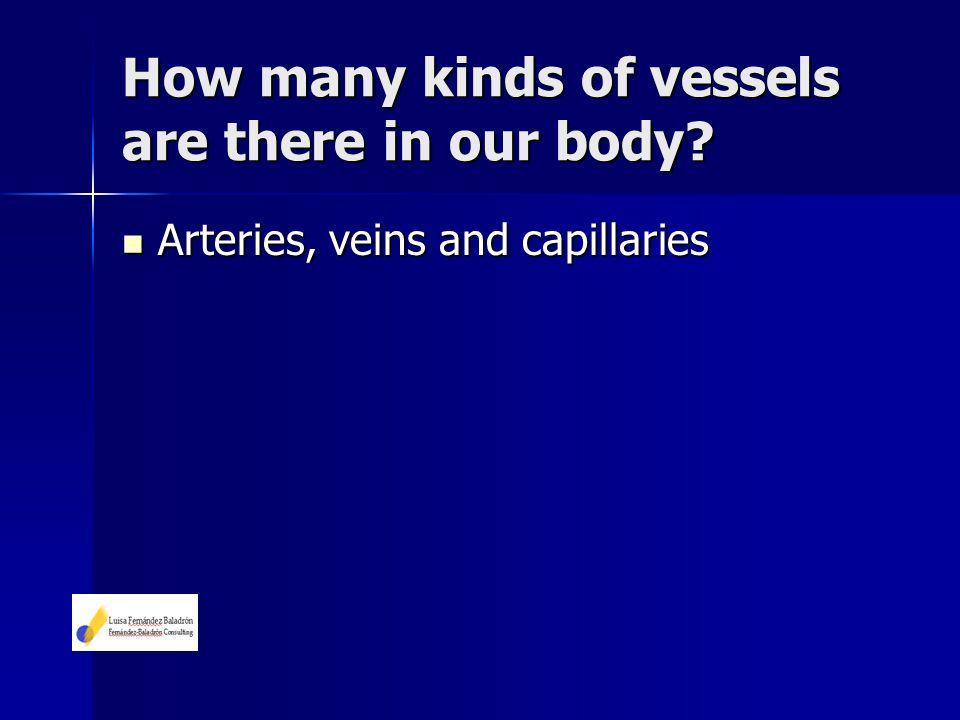 Arteries, veins and capillaries Arteries, veins and capillaries