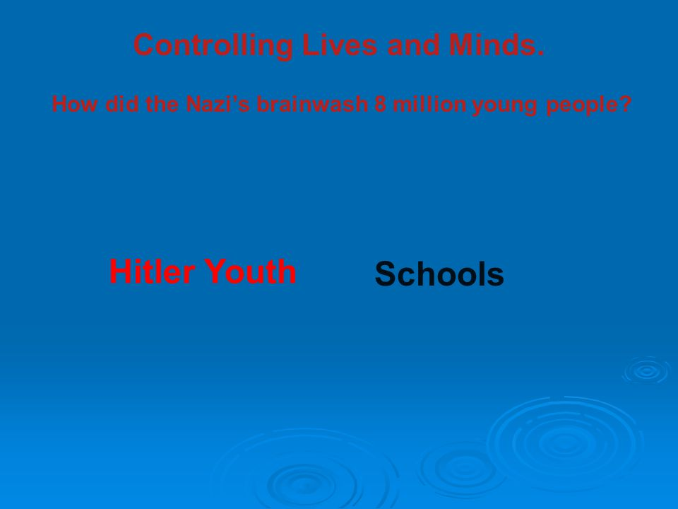 Hitler Youth Schools