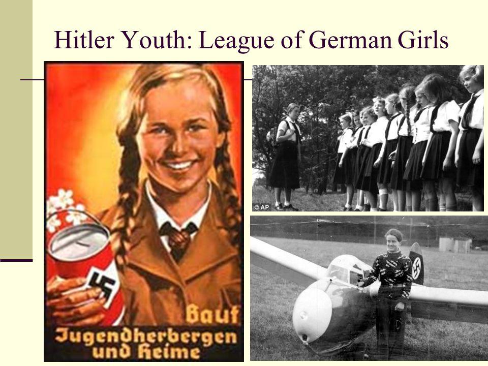 Hitler Youth: League of German Girls