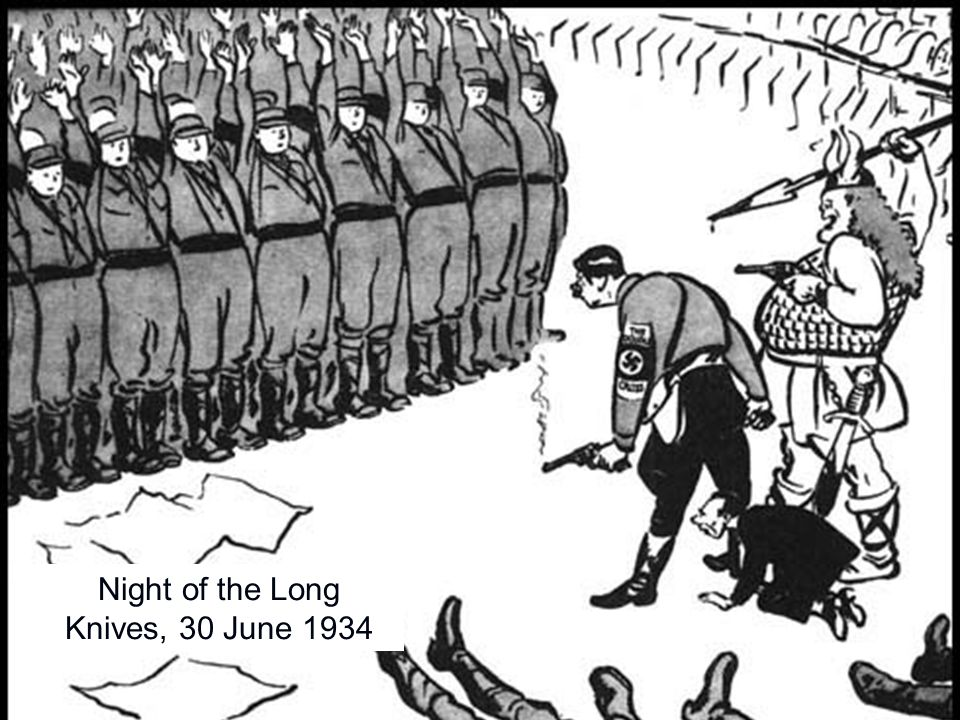 Night of the Long Knives, 30 June 1934