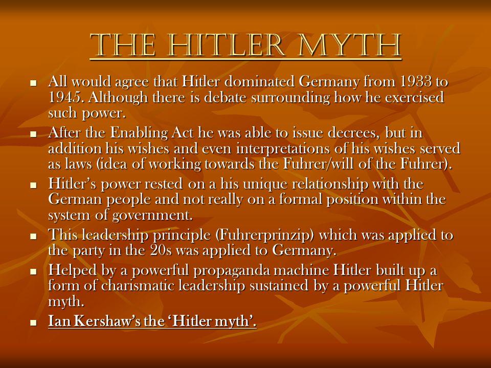 How Successful was Nazi Propaganda.On the one hand…… On the one hand…… On the other….