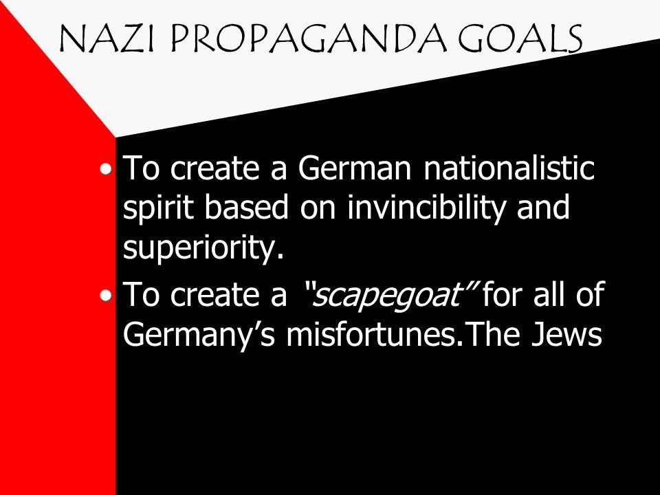 THE MASTER MIND Josef Goebbels Minister of Propaganda