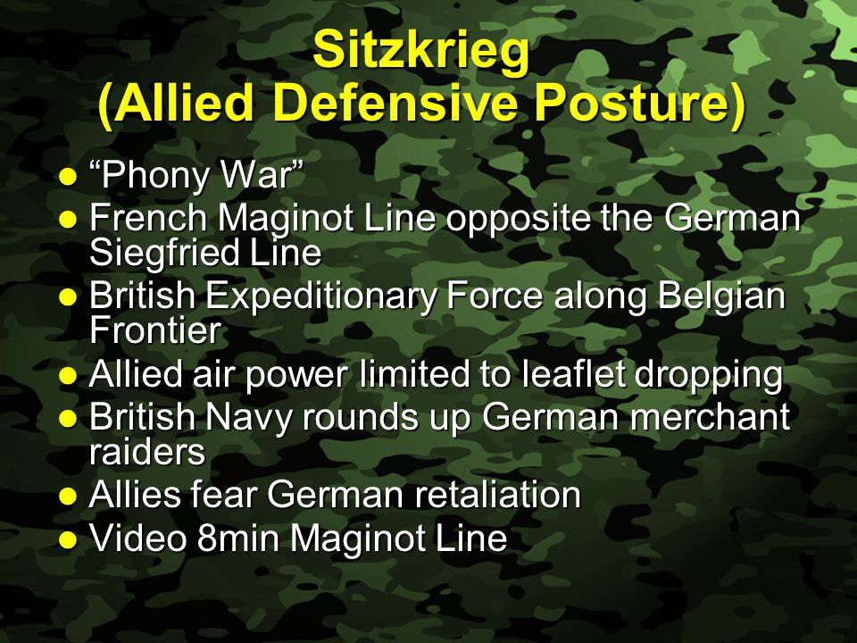 Slide 18 The Battle of Britain After fall of France, Britain stands alone.