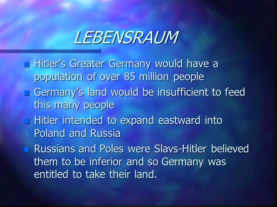 The Treaty Of Versailles n The German Army was limited to 100,000 men n Germany had to pay reparations to the allies n Germany had to accept the War G