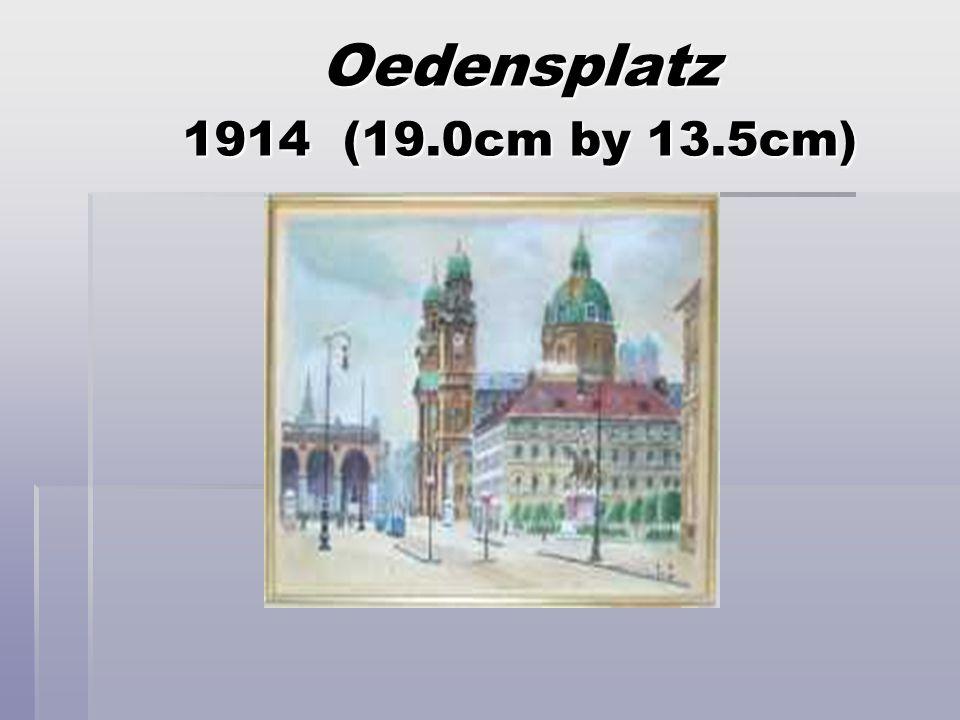 The Basler Gate (32 cm by 46 cm) 1933