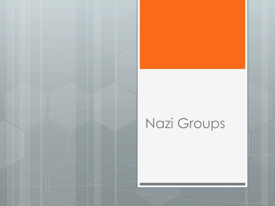 Nazi Groups