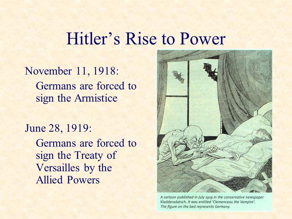 Hitler's Rise to Power 1933: Jan.30: Hindenburg names Hitler Chancellor Feb.